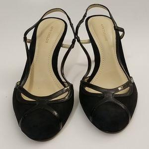 Ann Taylor Slingback Heels, Size 7M